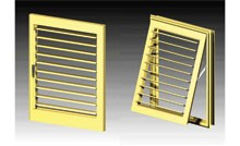 Louvres in Panels